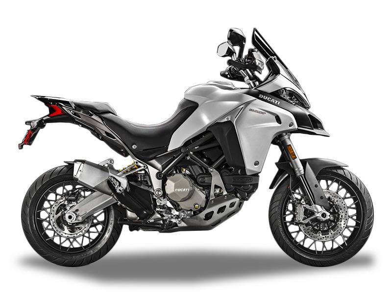 2016 Ducati Multistrada 1200 Enduro Star White Slik