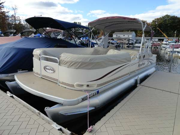 Aqua Patio 240 Df Boats For Sale
