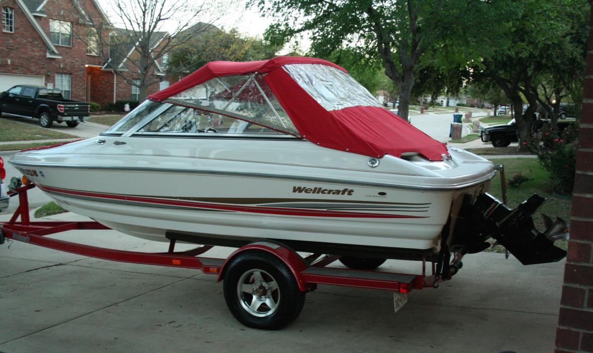 2002 Wellcraft 190 Excalibur Platinum