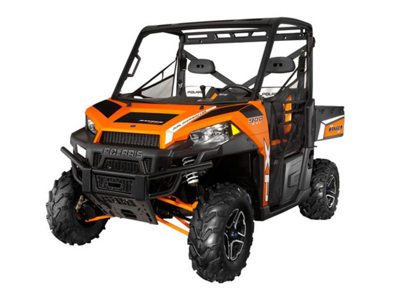 2013 Polaris Ranger XP 900 Orange Madness LE EPS
