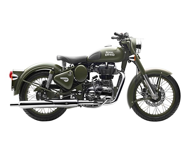 2017 Royal Enfield Classic Battle Green