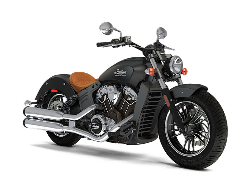 2017 Indian Motorcycle Scout Thunder Black Smoke