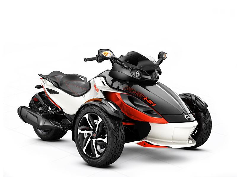 2015 Can-Am Spyder RS-S 5-Speed Manual (SM5)