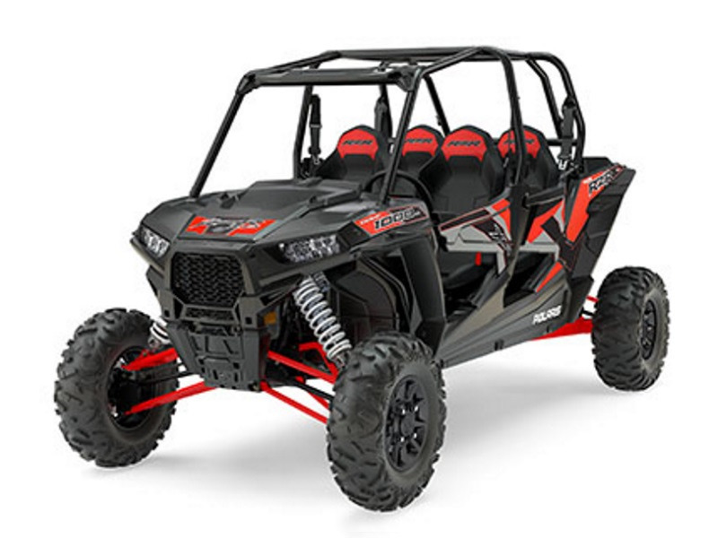 2017 Polaris RZR XP 4 1000 EPS Titanium Metallic