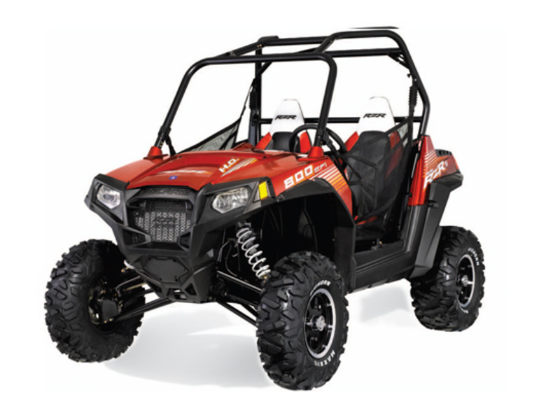2013 Polaris RZR S 800 EPS Sunset Red LE