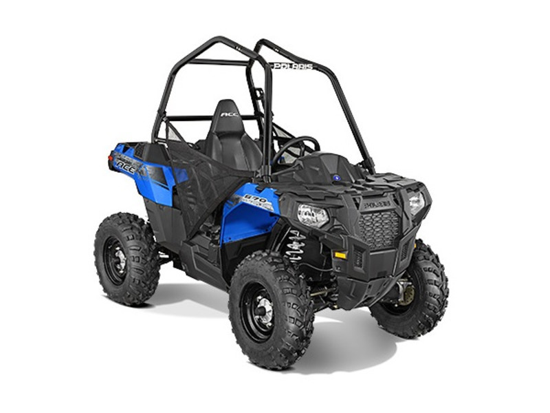 2015 Polaris ACE 570 Voodoo Blue