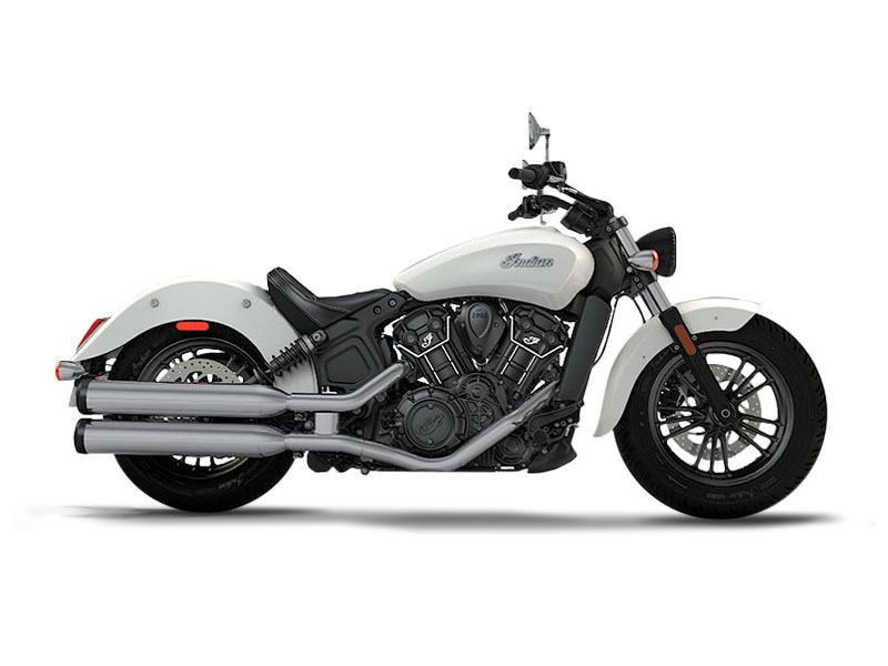 2017 Indian Motorcycle Scout Sixty Pearl White