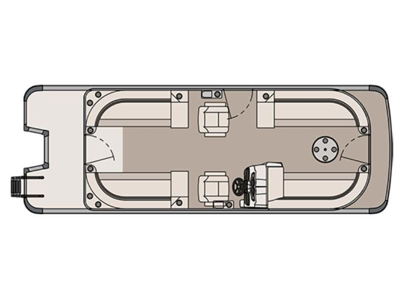 2017 Avalon LS Quad Lounge - 24 ft.