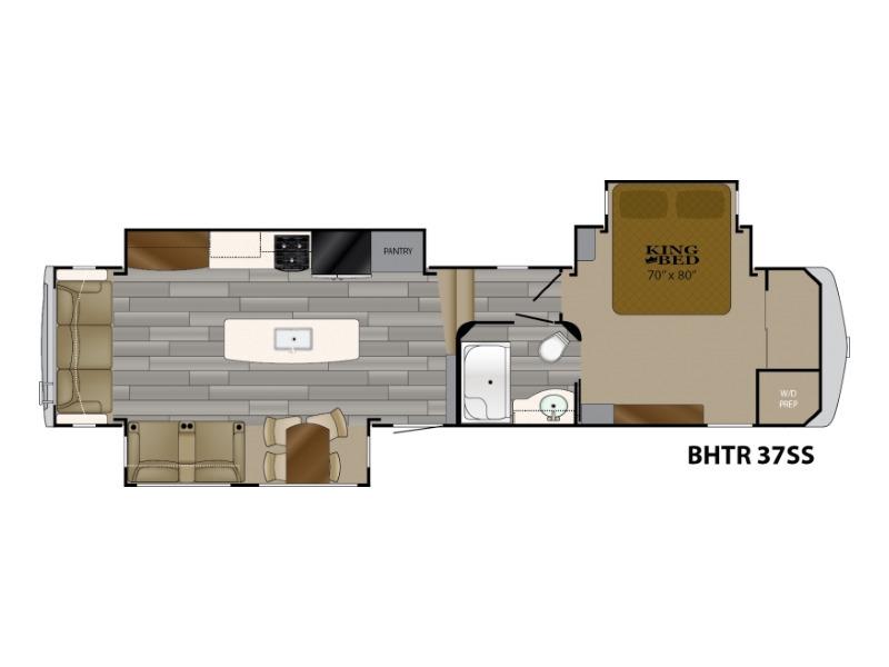 2018 Heartland Bighorn Traveler BHTR 37 SS
