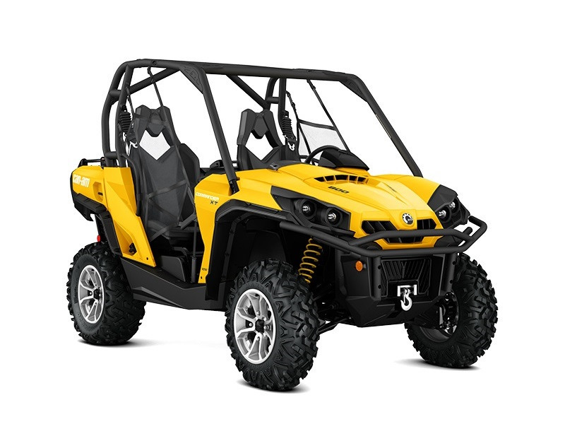 2017 Can-Am Commander XT 800R Yellow