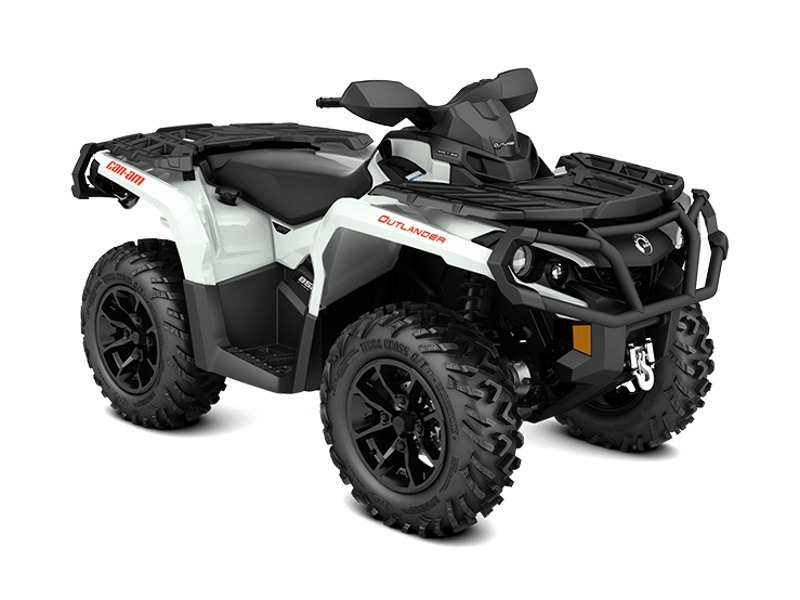 2017 Can-Am Outlander XT 650 Pearl White and Black