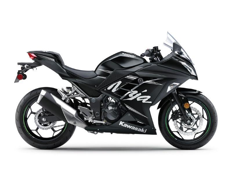 2017 Kawasaki Ninja 300 ABS Winter Test Edition