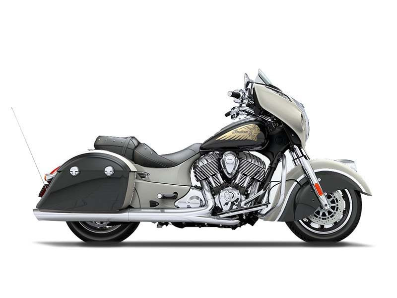 2016 Indian Motorcycle Chieftain Star Silver and Thunder Black