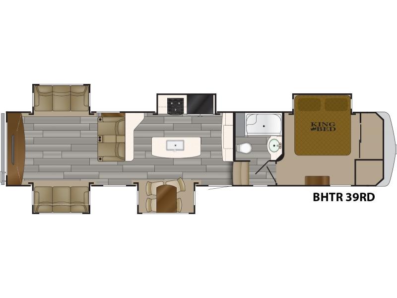 2018 Heartland Bighorn Traveler BHTR 39 RD