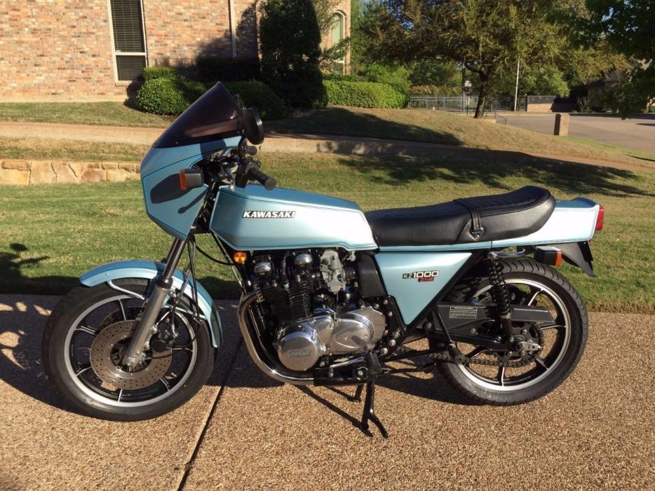 1982 Kawasaki Z1 900