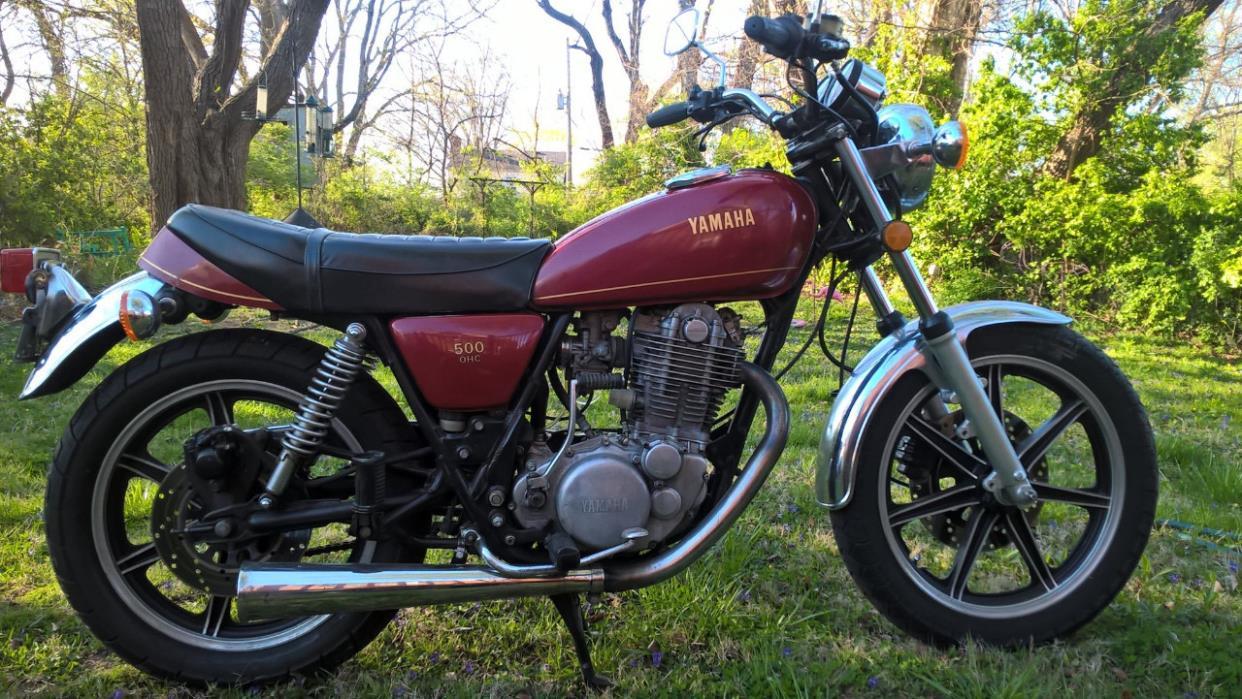 yamaha sr500 motorcycles for sale. Black Bedroom Furniture Sets. Home Design Ideas