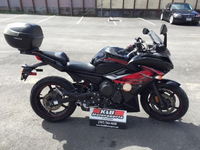 2012 Yamaha FZ-6R