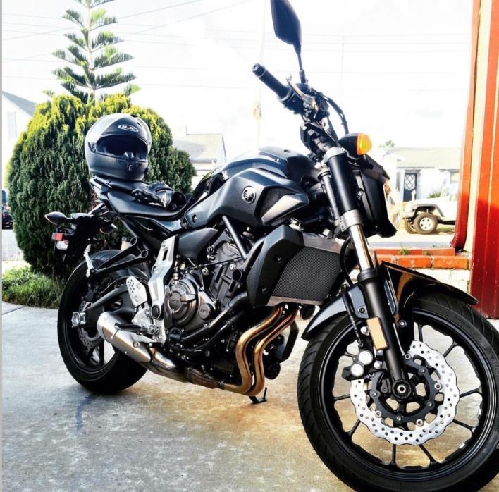 2016 Yamaha FZ-07 ABS