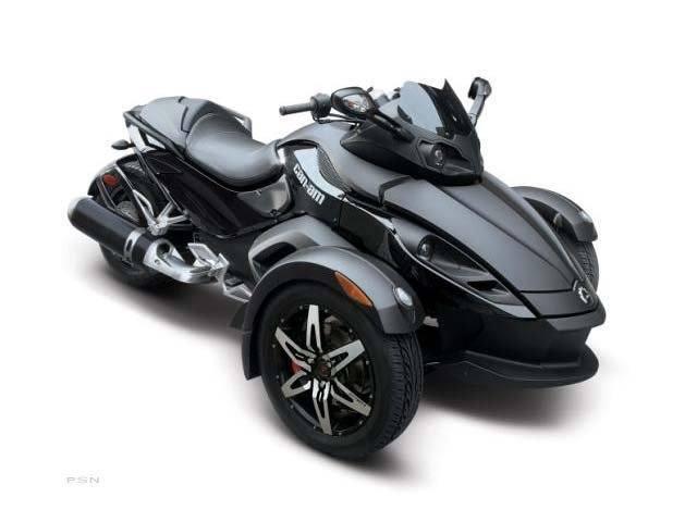 2009 Can-Am Spyder™ GS Phantom Black Limited Edition