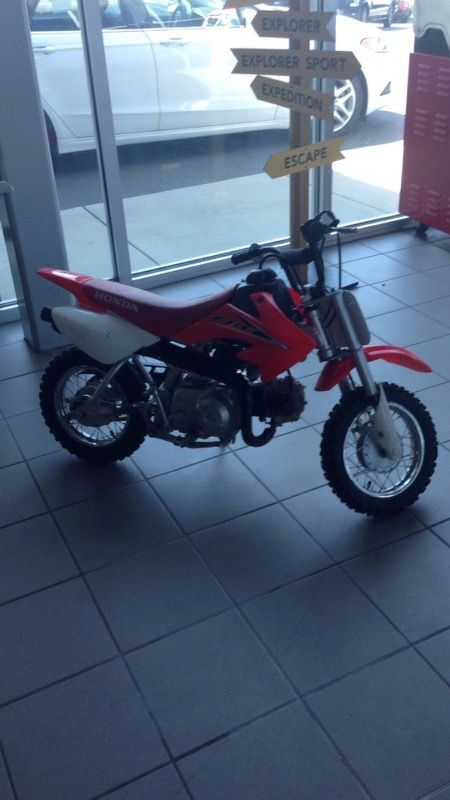 2012 Honda CRF 50F