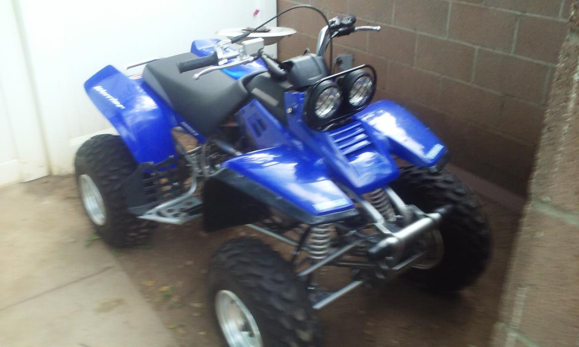 2004 Yamaha WARRIOR 350