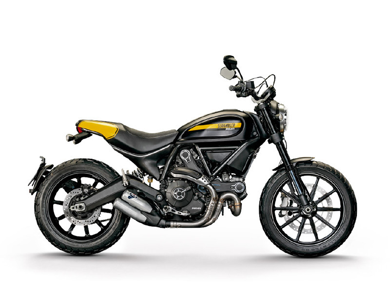 2017 Ducati Scrambler Full Throttle Deep Black