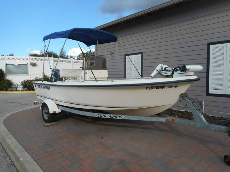 2004 Key West 1720 Sportsman