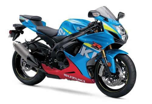 2016 Suzuki Gsx-R750 Blue