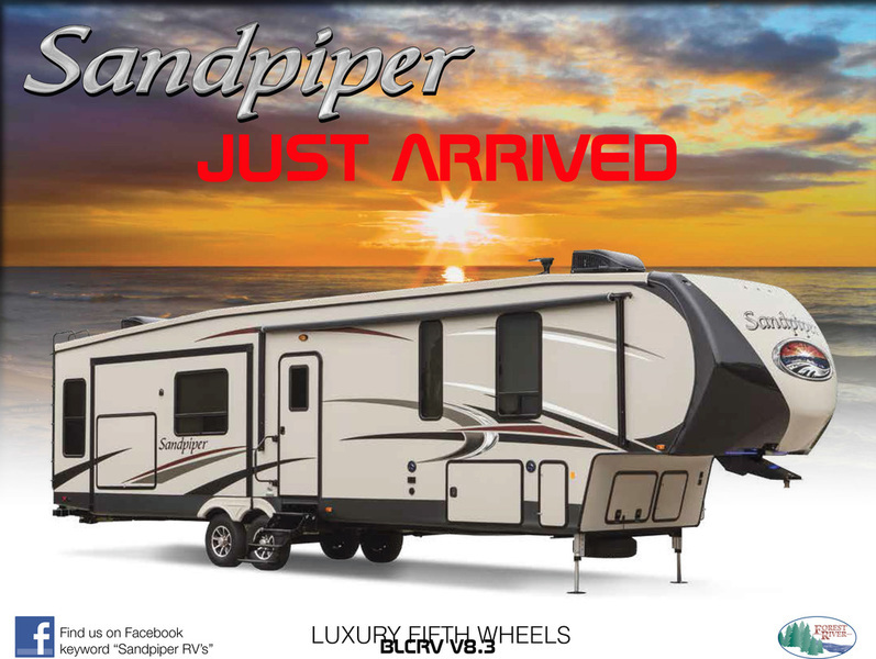 2018 Sandpiper 383RBLOK