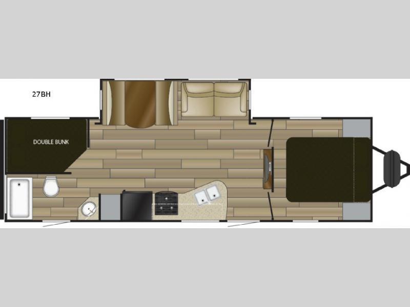 2018 Cruiser Radiance Ultra Lite 27BH