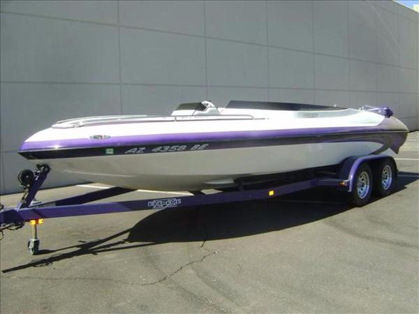 2001 Laser Performance Open Bow Vision 22
