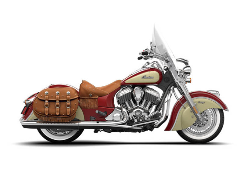 2015 Indian Motorcycle Chief Vintage Indian Red / Ivory Cream