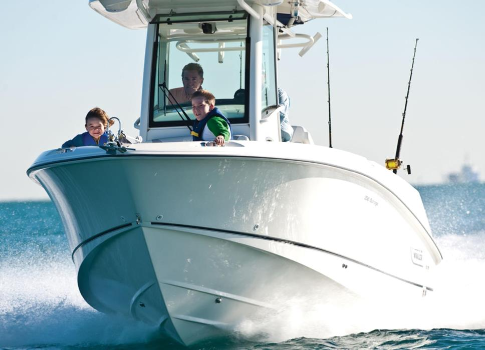 2014 Boston Whaler 250 Outrage