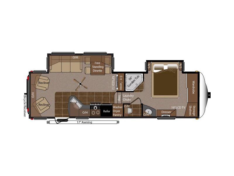 2011 Keystone Rv Montana 2955RL