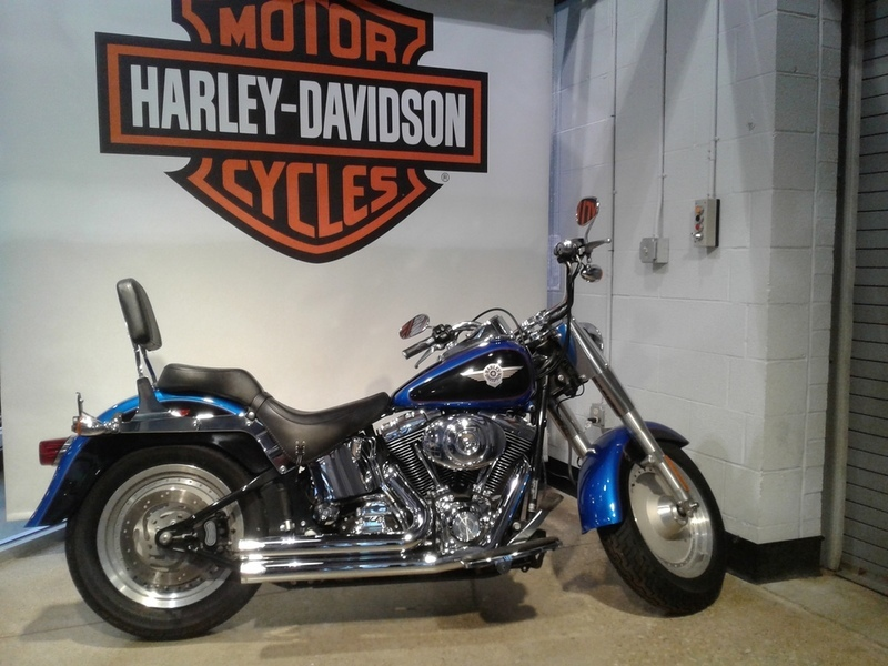 2004 Harley-Davidson Softail Fat Boy FLSTFI