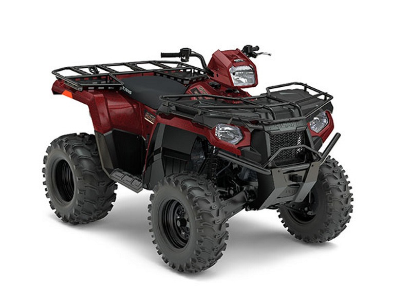 2017 Polaris Sportsman 570 EPS Utility Edition Maroon Metallic