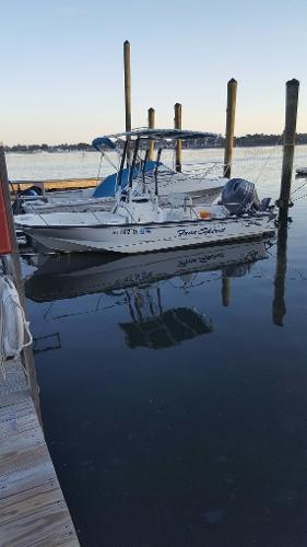 2002 Boston Whaler 17 Montauk New Power
