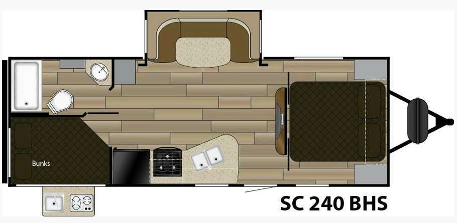 2018 Cruiser Rv Shadow Cruiser RV 240BHS