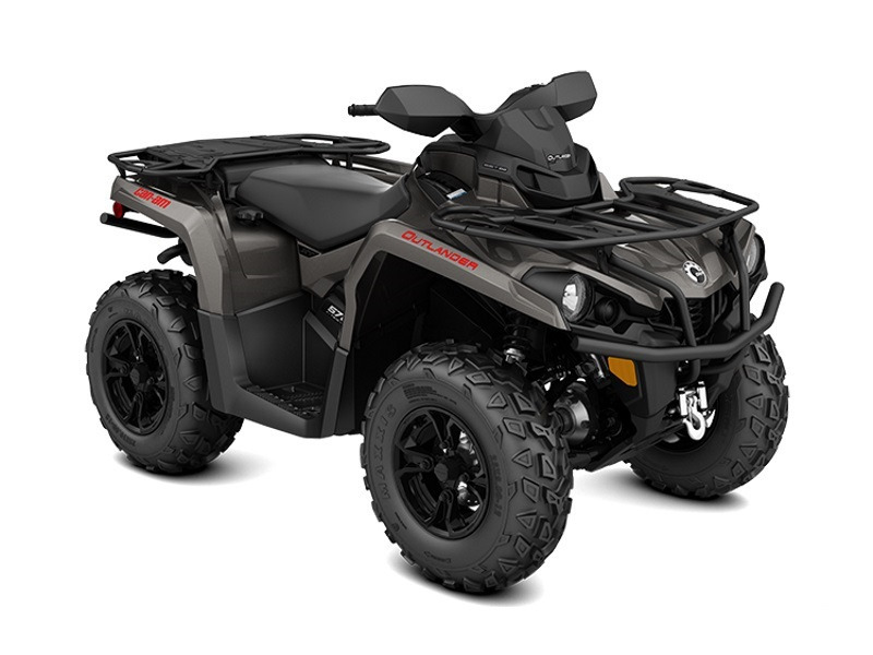 2017 Can-Am Outlander XT 570 Pure Magnesium Metallic