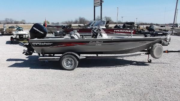 2007 Fisher Pro Hawk 170