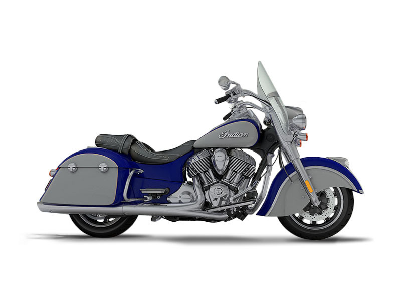 2017 Indian Motorcycle Springfield Blue Sapphire Over Star Silver