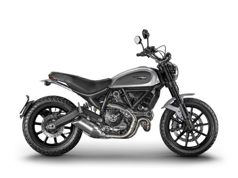2017 Ducati Scrambler Icon Grey