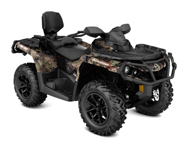 2017 Can-Am Outlander MAX XT 850 Mossy Oak Break-up Country Camo