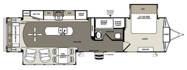 2014 Forest River Rv Sandpiper 393RL