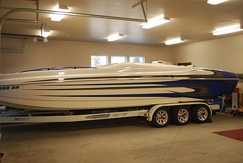 2004 Magic 28 Deckboat
