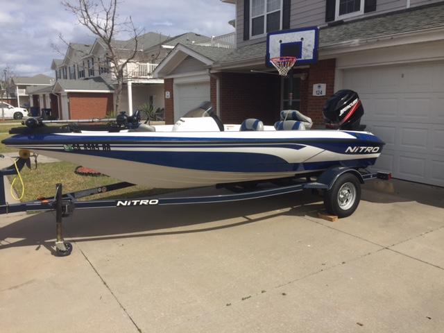 2008 Nitro 640 Bass Boat