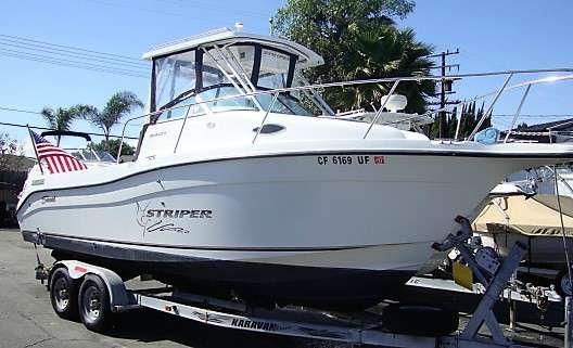 2003 Seaswirl Striper 2601WA IO