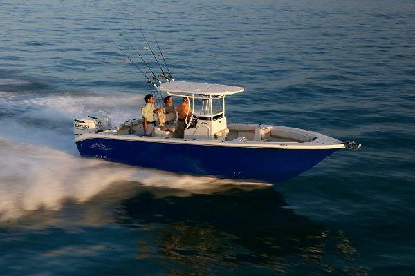 2017 Sea Chaser 27 HFC BLUEWATER