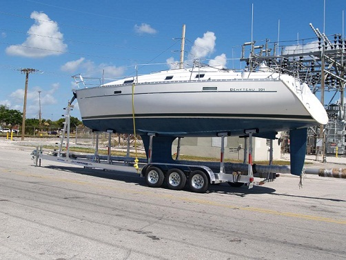 2015 FE TRAILERS SAIL BOAT TRAILER