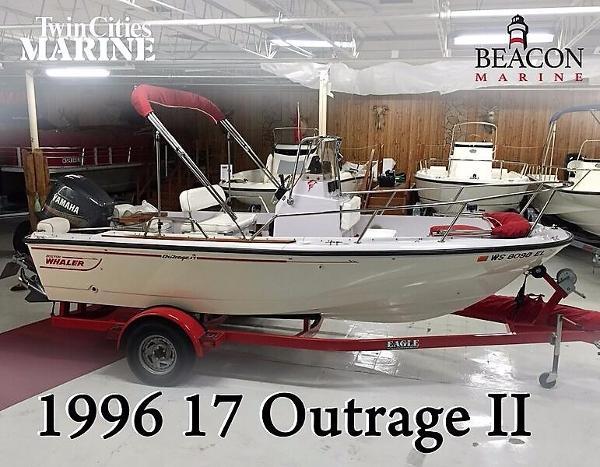 1996 Boston Whaler 17 Outrage II